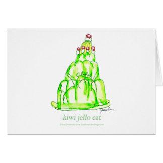tony fernandes's kiwi jello card