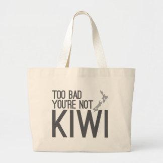 Too bad you're not KIWI (NEW ZEALAND) Jumbo Tote Bag