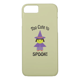 Too Cute to Spook! Little Witch iPhone 7 Case