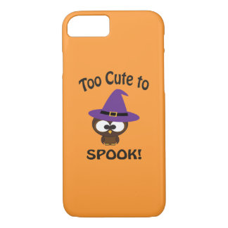 Too Cute to Spook! Owl Witch iPhone 7 Case