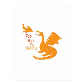 Too Hot To Handle Postcard