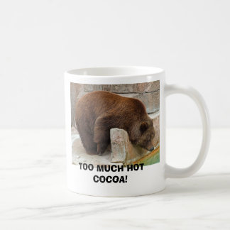 TOO MUCH HOT COCOA COFFEE MUGS