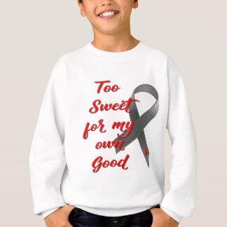 Too Sweet - Diabetes Ribbon Gift Sweatshirt