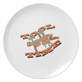 Tool Time Belt Dinner Plates