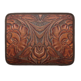 Tooled Leather Design MacBook Pro 13 Sleeve Sleeve For MacBook Pro