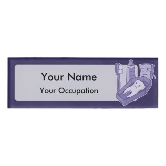 Tooth Funeral Name Tag