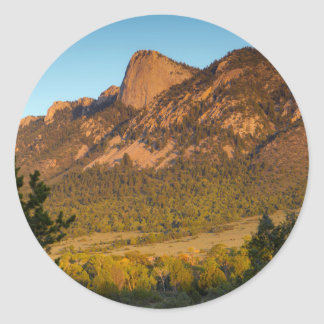 Tooth Of Time, Philmont Scout Ranch, Cimarron Round Sticker