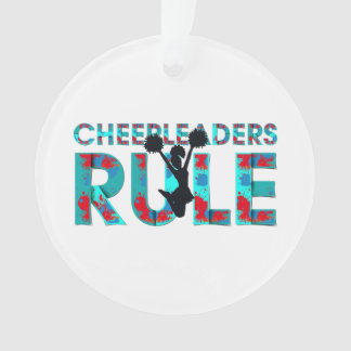 TOP Cheerleaders Rule Ornament