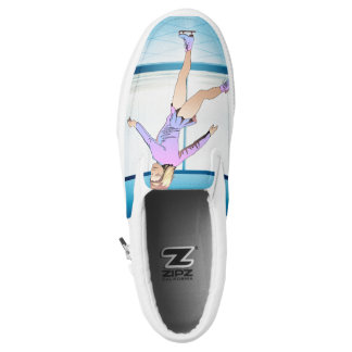 TOP Figure Skating Girl Slip-On Shoes