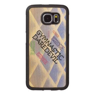 TOP Gymnastics Daredevil Wood Phone Case