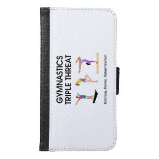 TOP Gymnastics Triple Threat Samsung Galaxy S6 Wallet Case