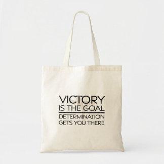 TOP Gymnastics Victory Slogan Tote Bag