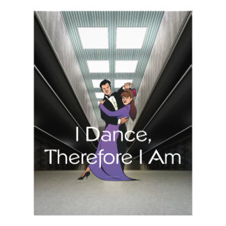 TOP I Dance Therefore I Am 21.5 Cm X 28 Cm Flyer