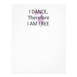 TOP I Dance Therefore I Am Flyer Design