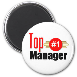 Top Manager 6 Cm Round Magnet