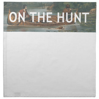 TOP On the Hunt Napkin