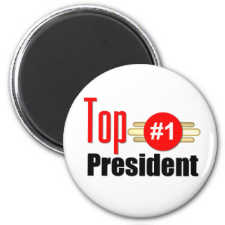 Top President 6 Cm Round Magnet