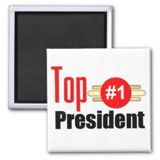 Top President Fridge Magnet