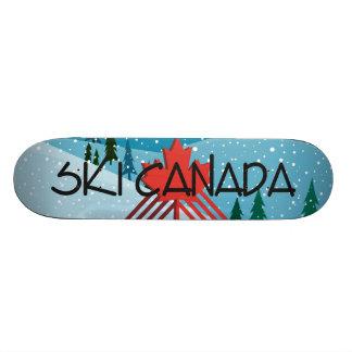 TOP Ski Canada Custom Skate Board