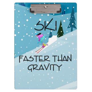 TOP Ski Faster Clipboards