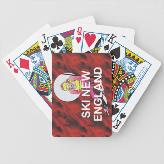 TOP Ski New England Bicycle Playing Cards
