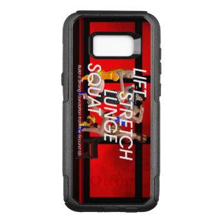 TOP Squat Slogan OtterBox Commuter Samsung Galaxy S8+ Case