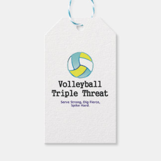 TOP Volleyball Triple Threat Gift Tags