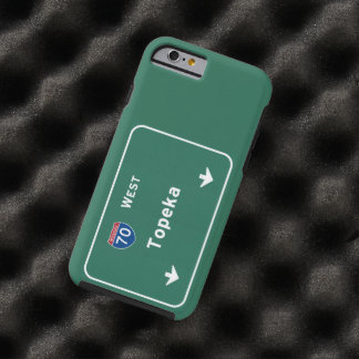 Topeka Kansas ks Interstate Highway Freeway : Tough iPhone 6 Case