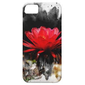 Torch Cactus Red Flower Case For The iPhone 5