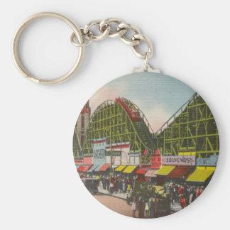 Tornado Roller Coaster - Coney Island NY /The Bobs Key Ring