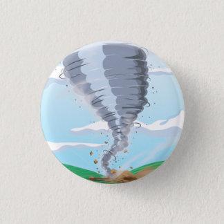 Tornado Twister 3 Cm Round Badge