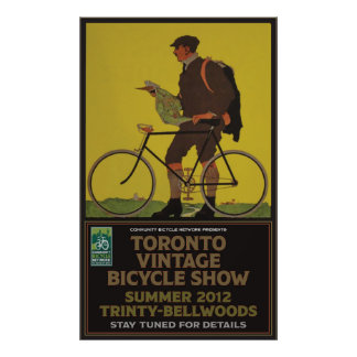 Toronto Bicycle Show Poster
