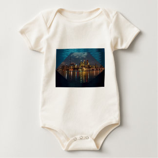 Toronto DownTown Spectacle CNTower Waterfront fun Baby Bodysuit