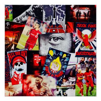Toronto FC MLS Champions 2017 Fan stubs Poster