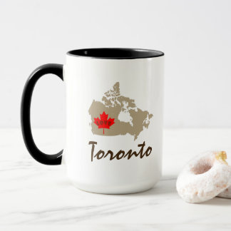 Toronto Ontario custom Canada  coffee tea cup mug
