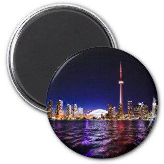 Toronto Skyline at Night Magnet