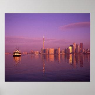 Toronto Skyline, Ontario, Canada Poster