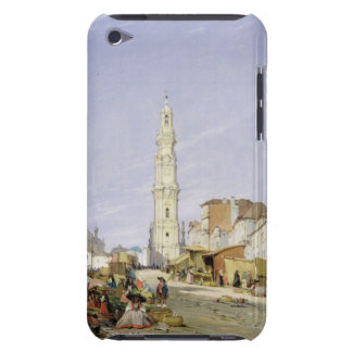 Torre dos Clerigos, Oporto, Portugal, 1837 (oil on iPod Touch Cover