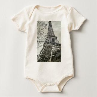 Torre Eiffel Baby Bodysuit