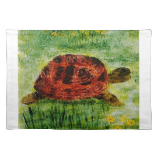 Tortoise Animal Art Placemat
