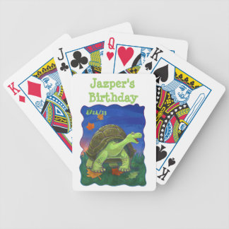 Tortoise Party Center Bicycle Playing Cards