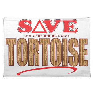 Tortoise Save Placemat