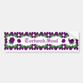 Tortured Soul Bumper Sticker