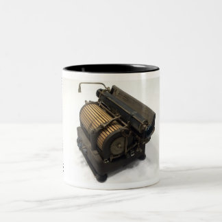 Toshiba 1400H typewriter Two-Tone Coffee Mug