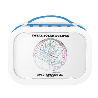 Total Solar Eclipse 2017 August 21 North America Lunch Box