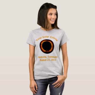 Total Solar Eclipse (  Nashville, Tennessee ) T-Shirt