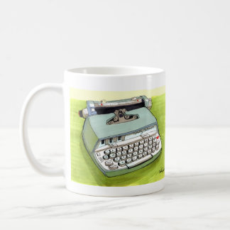 Totally Auto Matic Classic Typewriter Basic White Mug