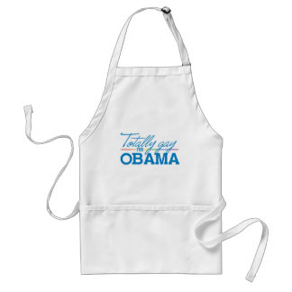 Totally Gay for Obama Adult Apron