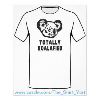 Totally Koalafied Koala Flyer