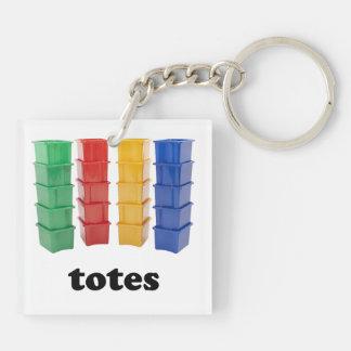 Totally Totes Key Ring